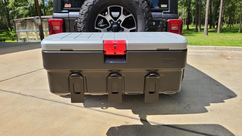 Hitch Mount Cargo Carrier 6