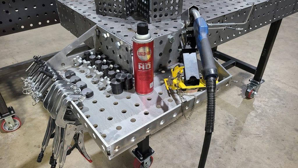 Welding Table Corner Extension-1