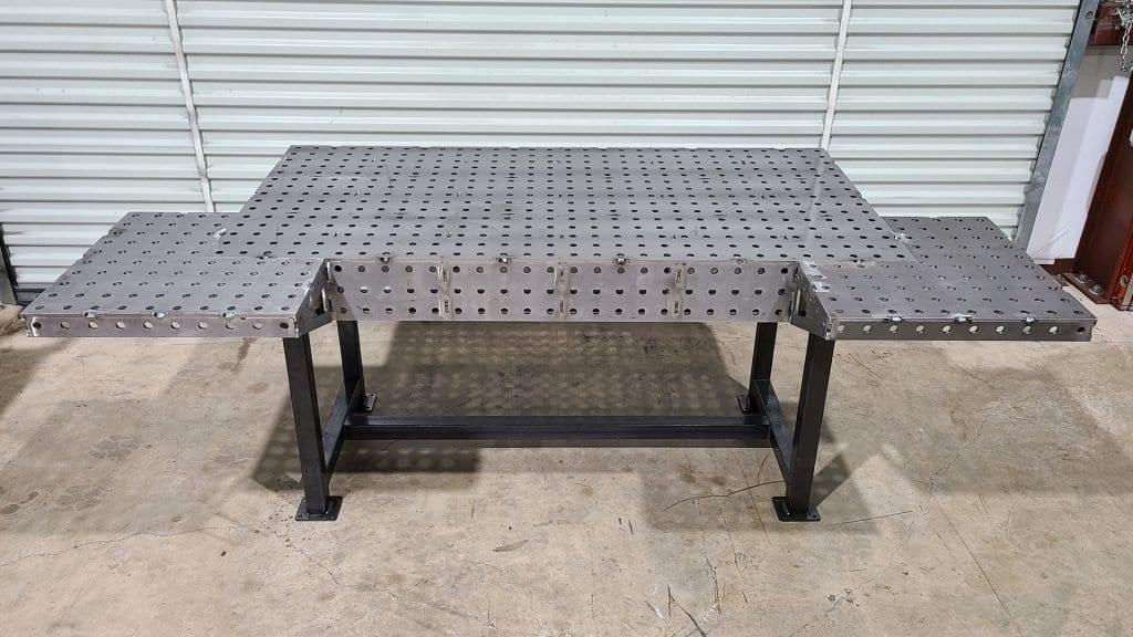Welding Table Corner Extension