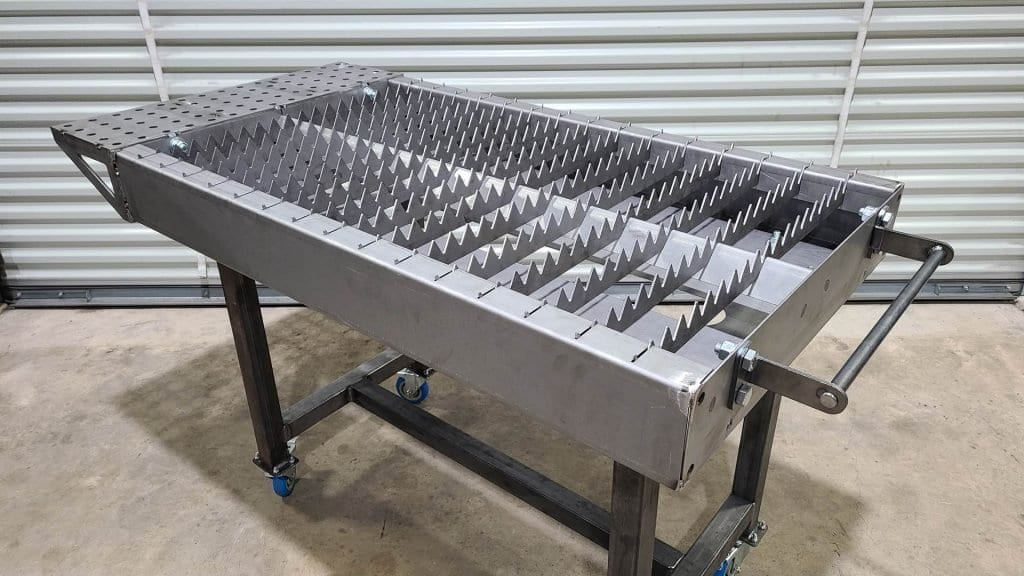 Plasma Cutting Table w/ 30 Handles & Extension