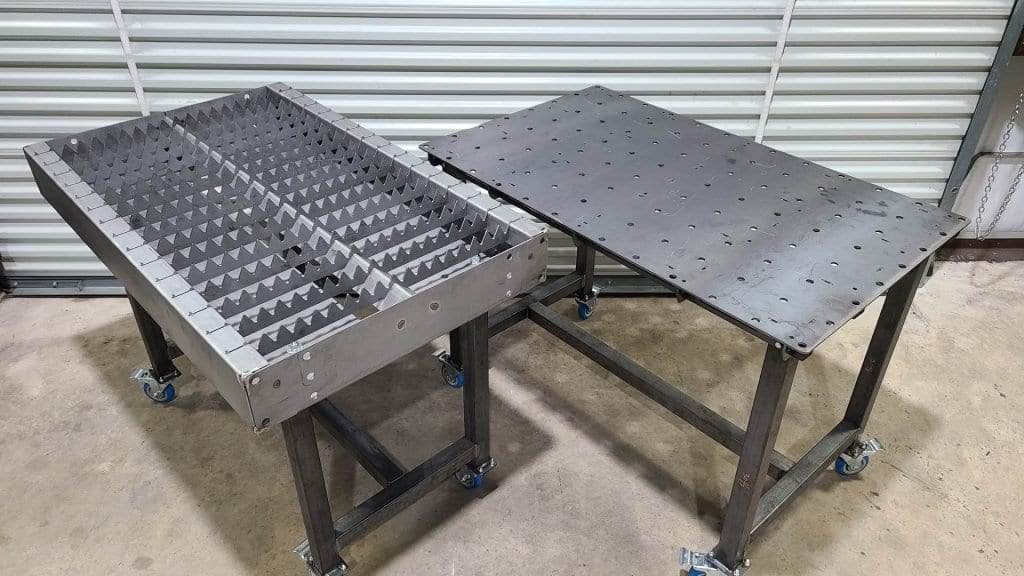 Plasma Cutting Table & Cart