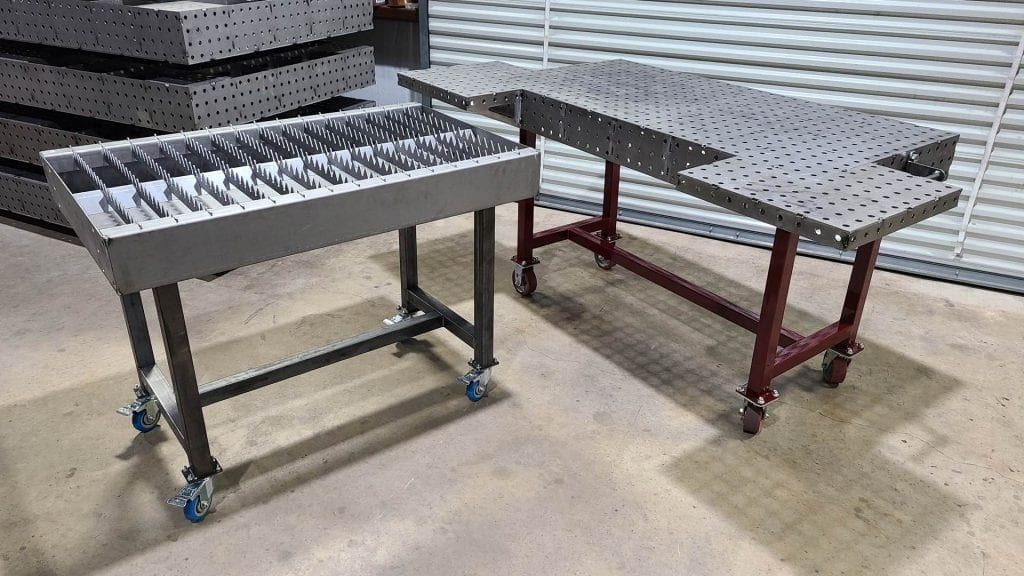 "Plasma Cutting Table & 30"" x 60"" Table"